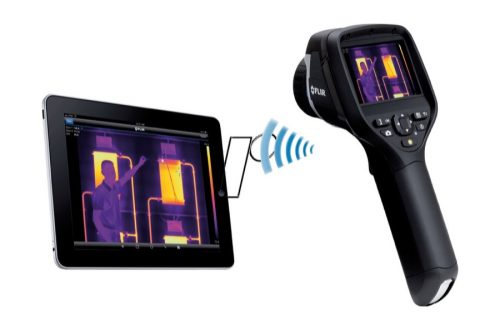 camara termografica flir e40 device