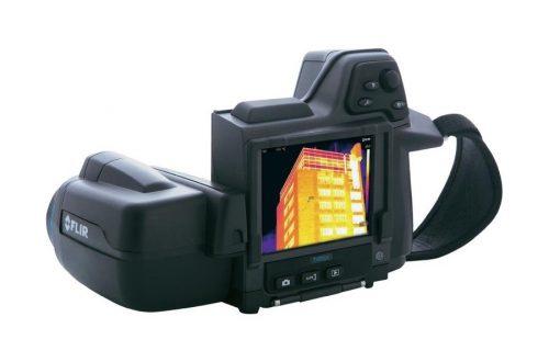 camara termografica flir t420bx con lente 25 back