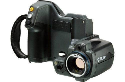 camara termografica flir t440 con lente 25 front