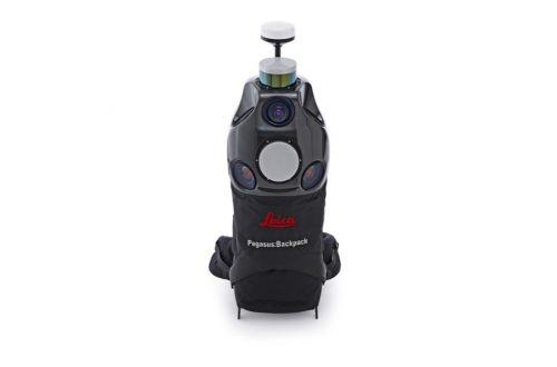 leica pegasus backpack front
