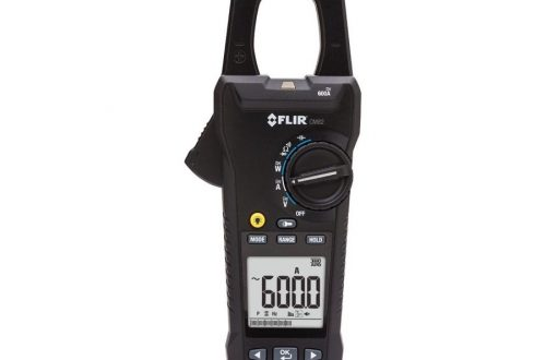 medidor de tenaza cm82 600a con modo vfd front