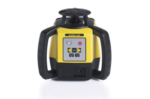 nivel laser leica rugby 640 con receptor re basic front