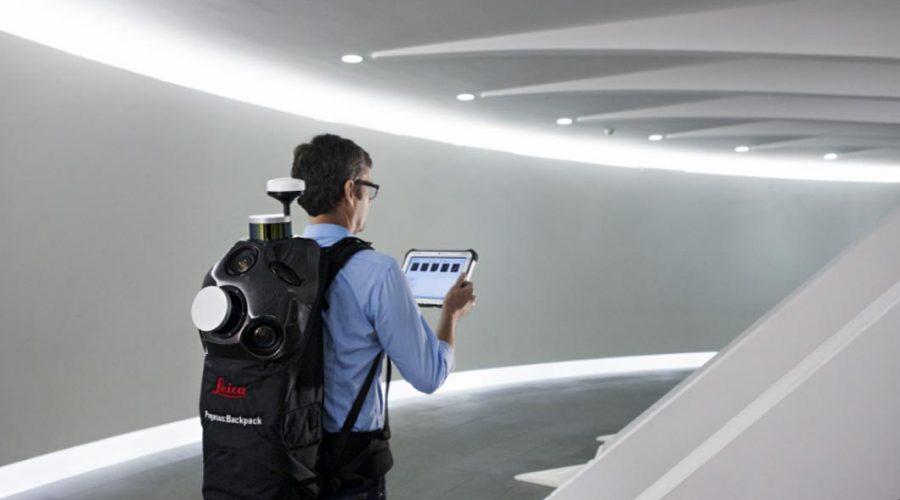 Video Láser escáner Leica Pegasus BackPack