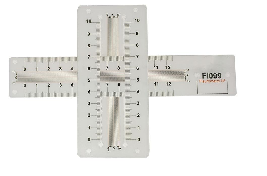 Fisurómetro en 2 direcciones