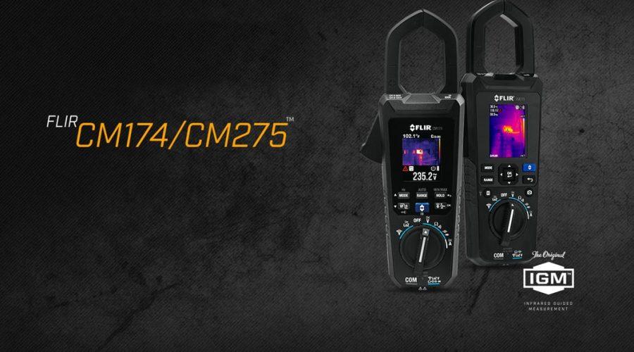 Video Medidor de tenaza FLIR CM174 y CM 275 AC/DC