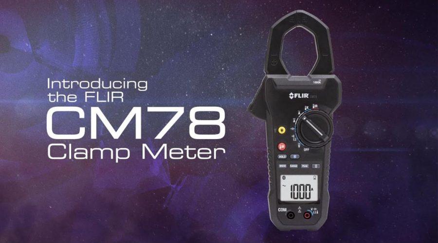 Video Medidor de tenaza FLIR CM78 1000A AC/DC
