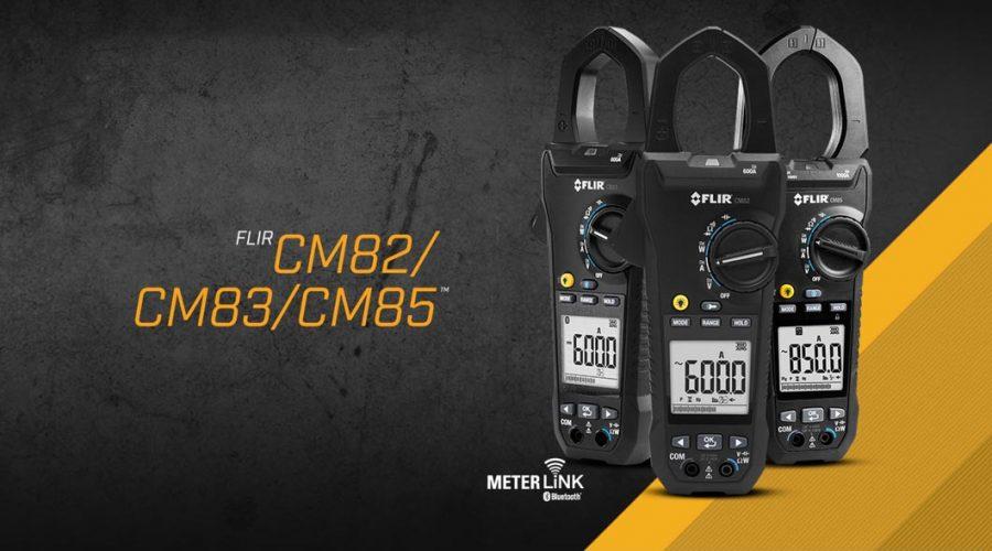 Video Medidor de tenaza FLIR CM82 600A con modo VFD