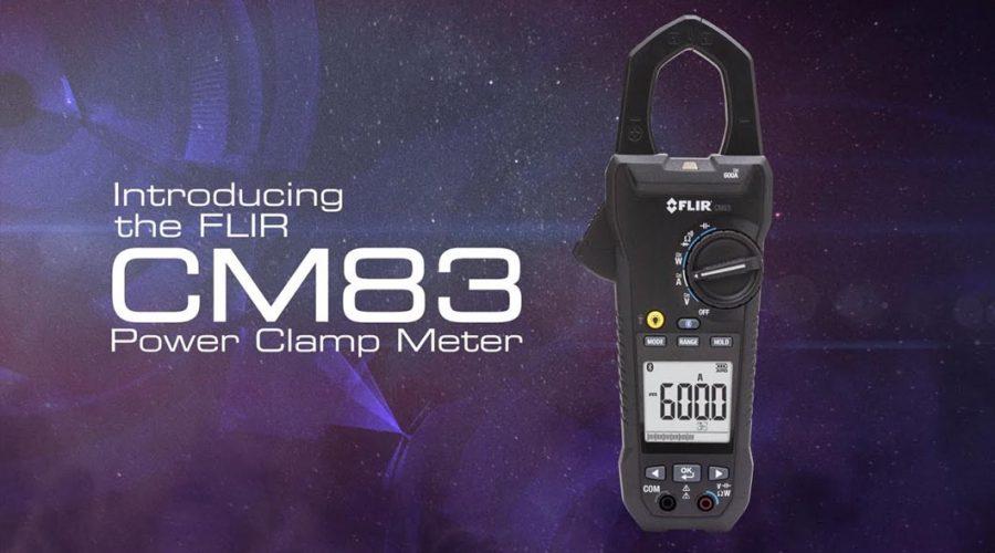 Video Medidor de tenaza FLIR 600A CM83 con Bluetooth Meterlink
