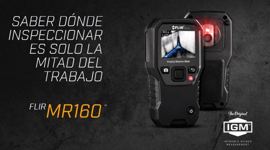 Video Medidor de humedad termográfico FLIR MR160