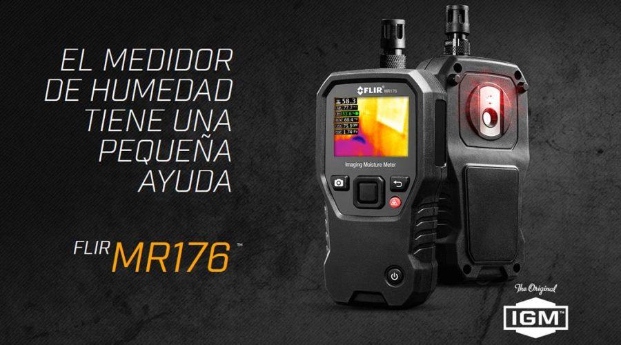 Video Medidor de humedad termográfico FLIR MR176