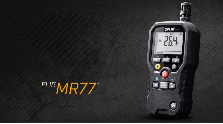 Video Sensor de humedad FLIR MR77