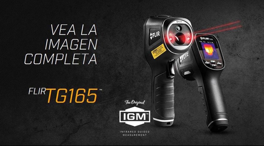 Video Termógrafo infrarrojo FLIR TG165