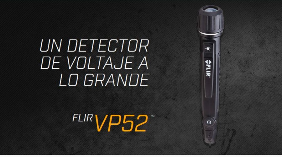 Video Comprobador de voltaje FLIR VP52