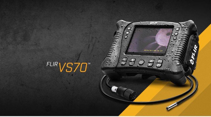 Video Videoscopio FLIR VS70