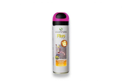 Spray de pintura fluorescente cereza