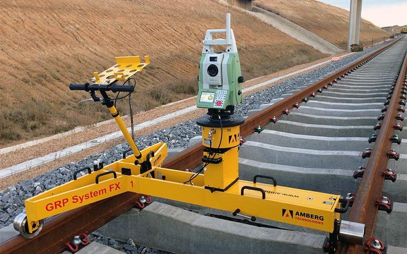 Video Carro de vías Amberg GRP 5000