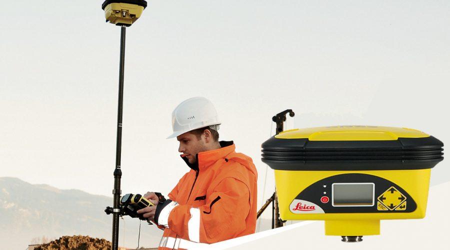 Video Antena Leica iCON GPS60 de posicionamiento en obra