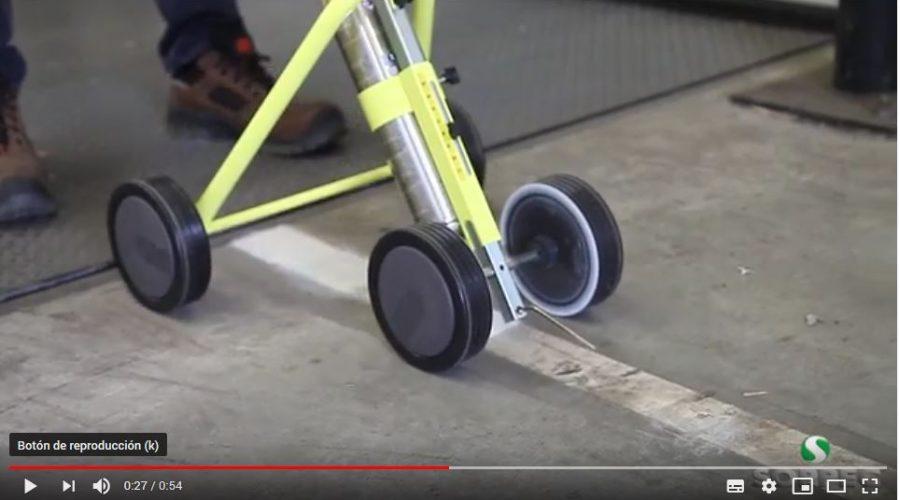 Video Trazador de líneas industrial TRACING PLUS SOPPEC