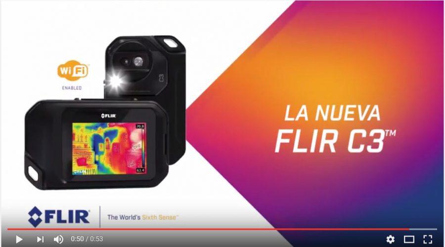 Video Pack FLIR Cámara termográfica C3 y comprobador de voltaje VP52