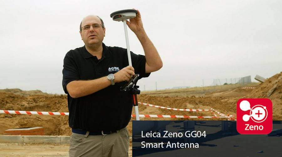 Video Antena GNSS Leica Zeno GG04