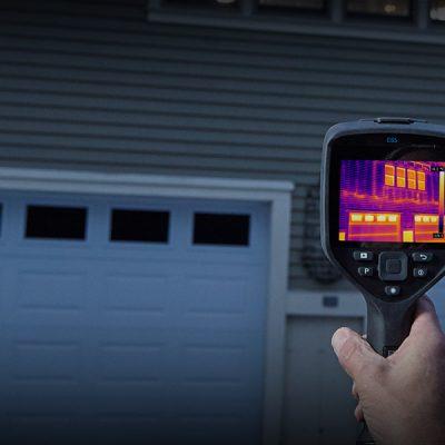 Cámaras termográficas para inspección de edificios