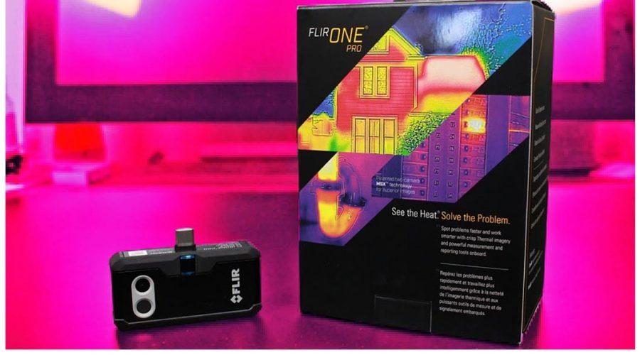 Video Cámara Termográfica para smartphone FLIR ONE PRO