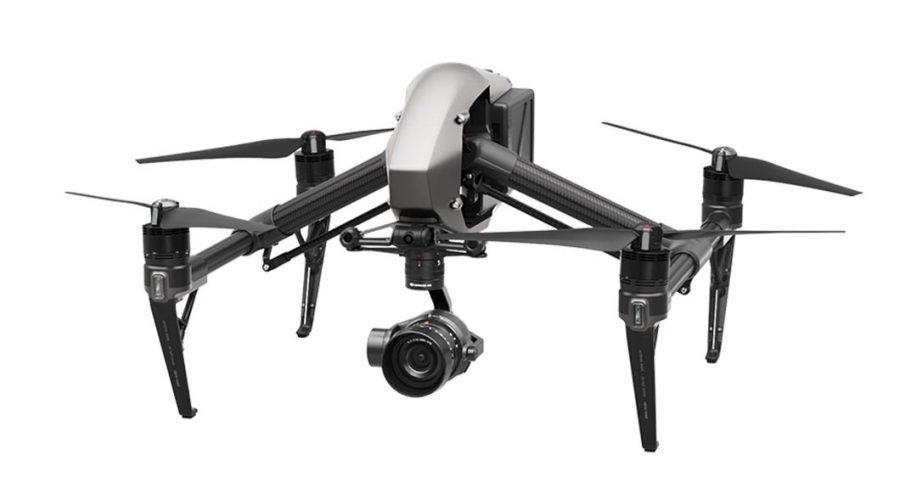 Video Dron DJI Inspire 2 para topografía con cámara para dron Zenmuse X5S y software Pix4D