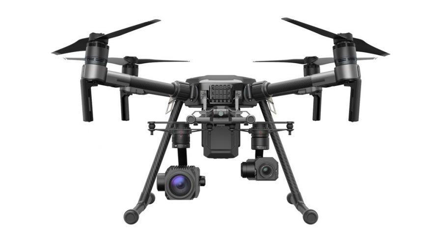Video DJI MATRICE 210 para seguridad e industria con Zenmuse Z30 y Zenmuse XT