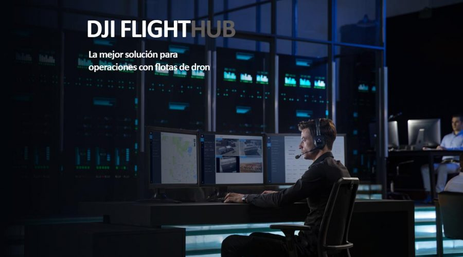 Video Software de control de flotas DJI FLIGHTHUB