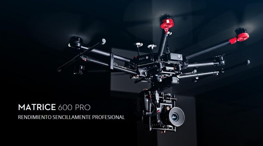 Video Dron DJI Matrice 600 PRO