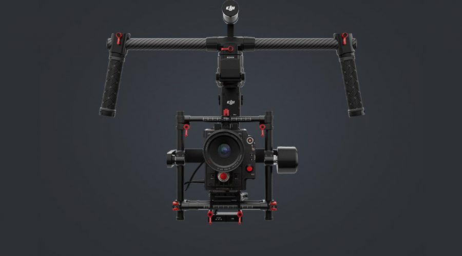 Video Estabilizador en 3 ejes para dron DJI Ronin MX