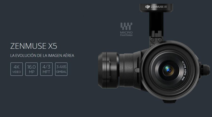 Video Cámara para dron DJI Zenmuse X5
