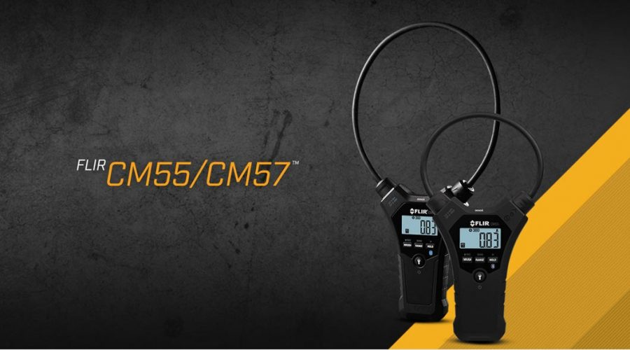 Video Medidores de tenaza flexible FLIR CM55 y CM57