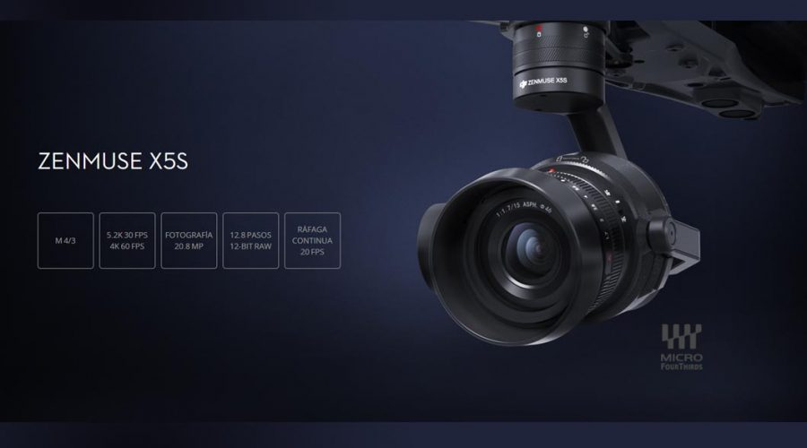 Video Cámara para dron DJI Zenmuse X5s