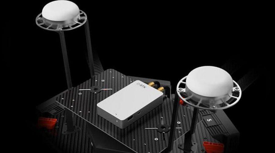 Video Módulo de precisión DJI para dron D-RTK GNSS