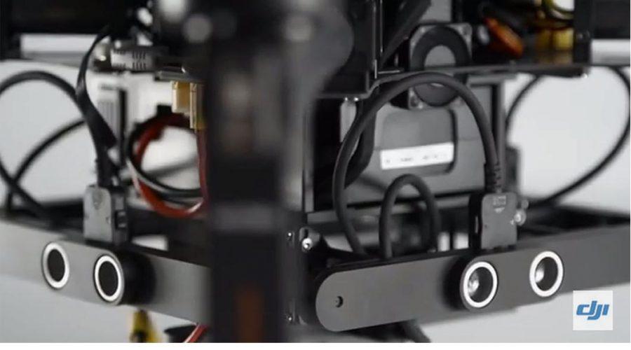 Video Detector de colisión para dron DJI Guidance