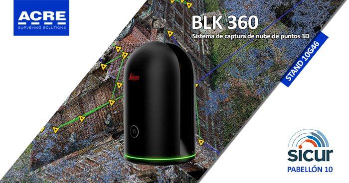 Escáner láser Leica BLK360