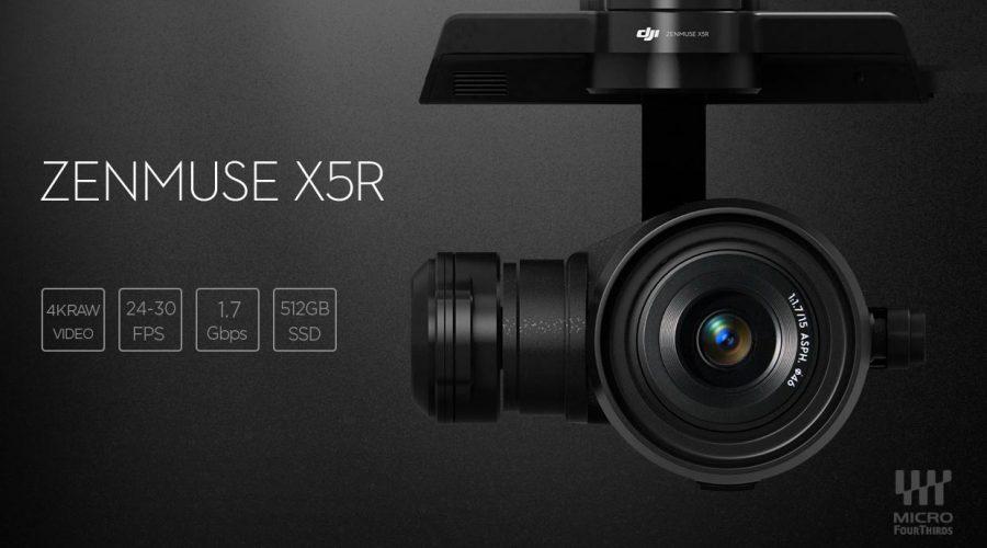 Video Cámara para dron DJI Zenmuse X5r
