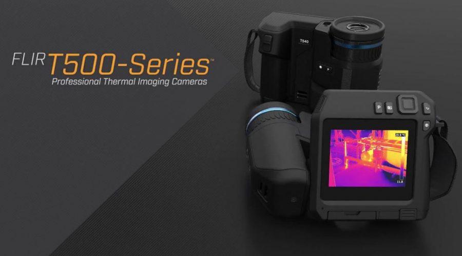Video Cámara de termografía profesional FLIR serie T500