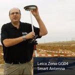 Leica Zeno GG04. Demostración de funcionamiento Antena GNSS