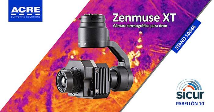 Cámara termográfica para dron Zenmuse XT