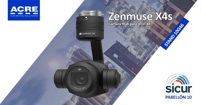 Cámara termográfica para dron Zenmuse X4s