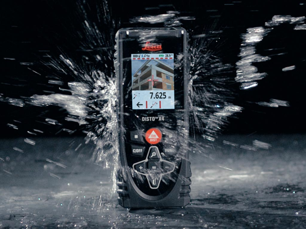 medidor laser medidor de distancias Leica DISTO X4 video