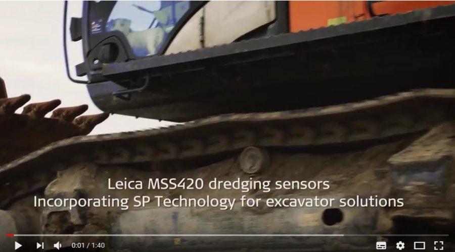 Video Control de maquinaria Leica para Excavadoras