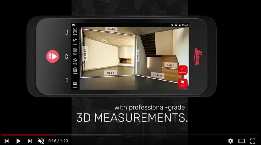 Video Medidor en 3D Leica BLK3D