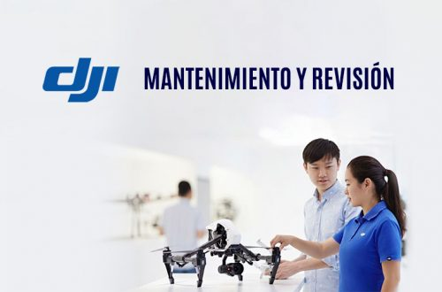 mantenimiento y revisión de drones