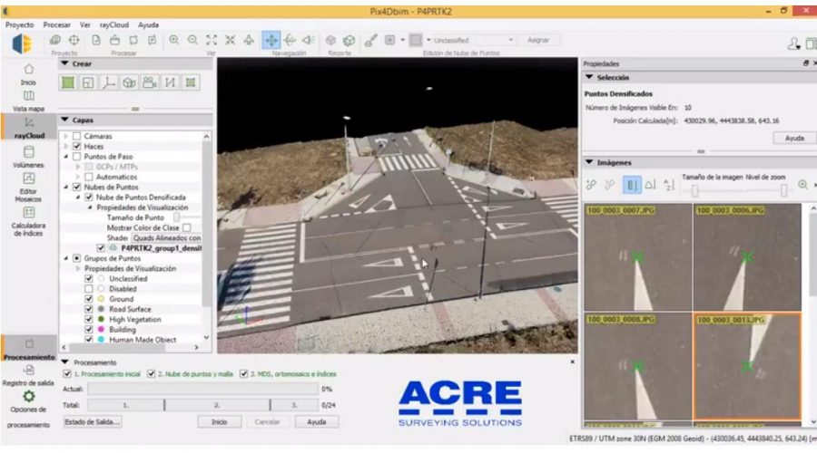 Video Pack topografía profesional:Phantom 4 RTK + Antena de referencia + Pix4Dmapper
