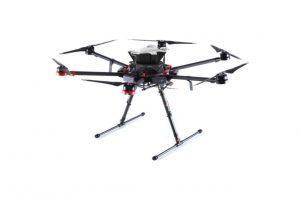 Sistema de seguridad SafeAir para drones DJI Serie Matrice 600