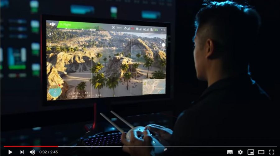 Video Software de simulación de vuelo para dron DJI FLIGHT SIMULATOR