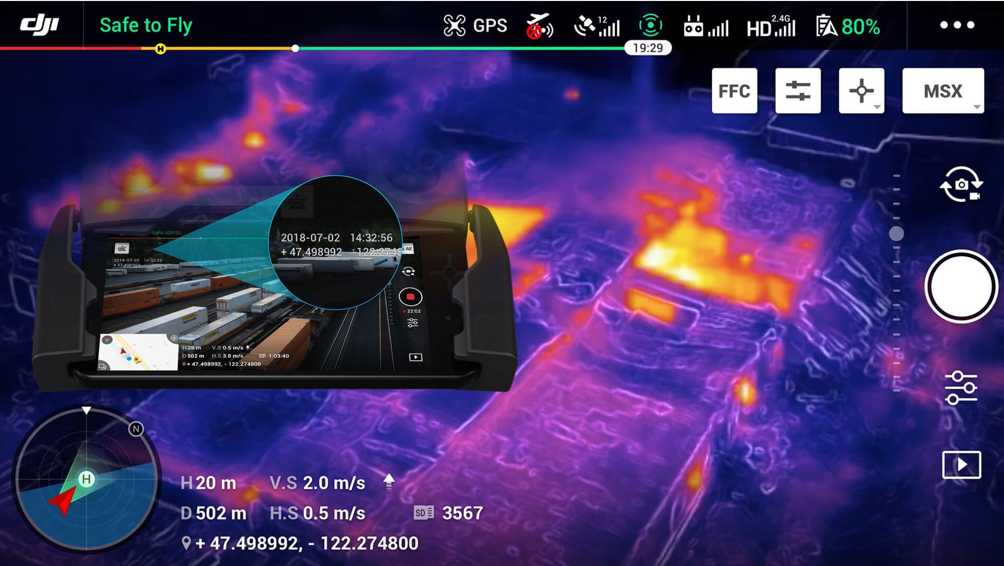 mavic2-enterprise-dual-control-remoto